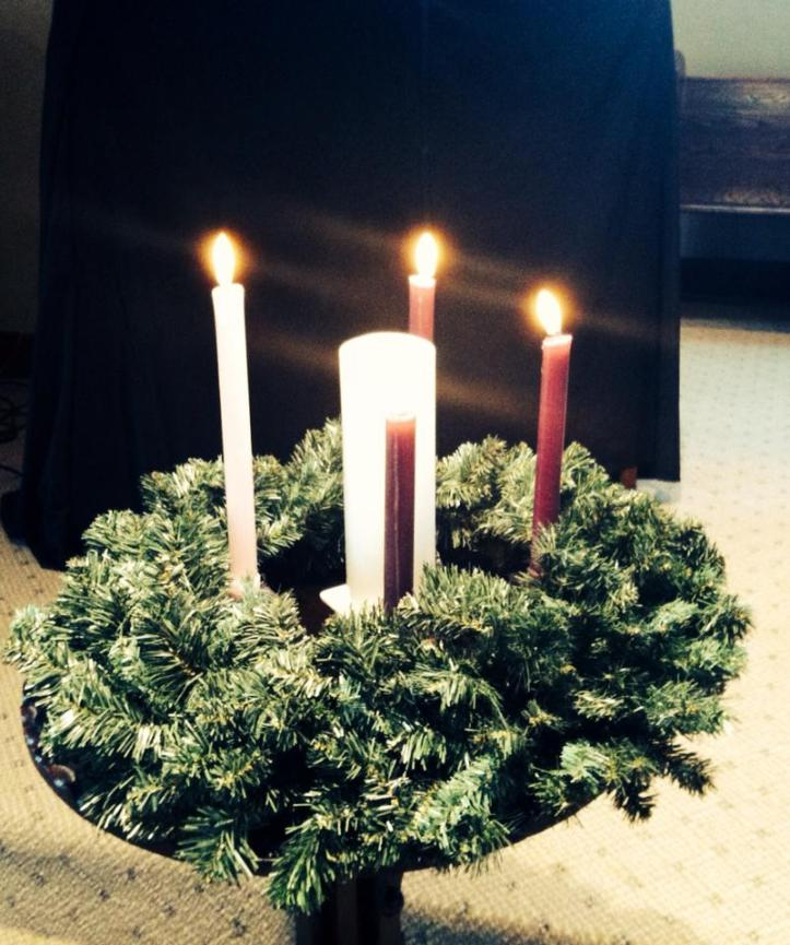 Advent Candles 2013