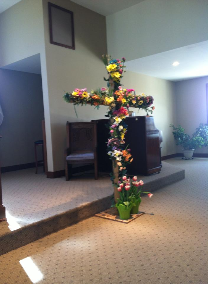Flowering of the Cross - Easter 2014